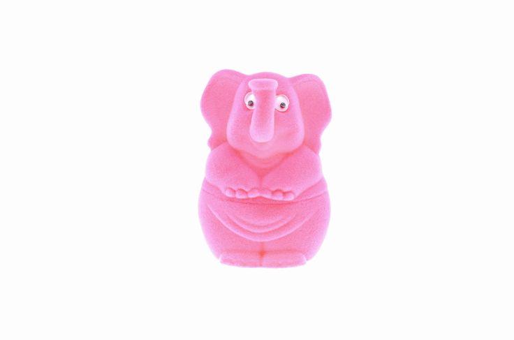 Urocze pudełko na biżuterię w kształcie różowego słonika   NA PREZENT \ Opakowania na biżuterię od GESELLE Jubiler