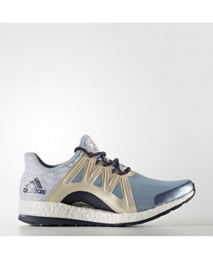 Adidas Pure Boost Xpose Clima Shoes BB1740 Tactile Blue Easy Blue Linen