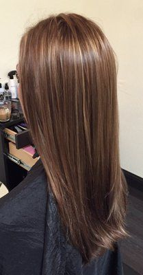 Cut and highlight/color by Andrea | Yelp