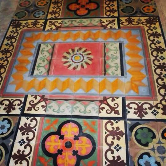 FLOOR PATTERN ODYSSEAS COLLECTION   Unique cement tiles, handmade for special places and exquisite taste. http://www.tsourlakistiles.gr/ https://www.facebook.com/tsourlakistiles http://instagram.com/tsourlakistiles http://www.houzz.com/pro/tsourlakistiles/tsourlakistiles
