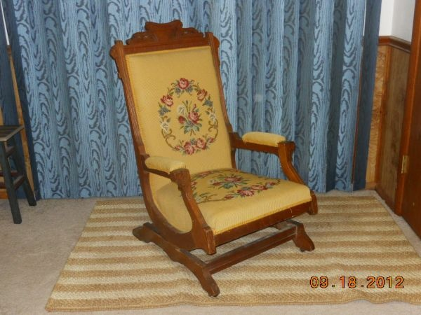 Eastlake Victorian Rocking Chair