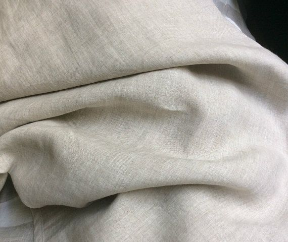 Natural Linen bed sheets linen bedding by CustomLinensHandmade