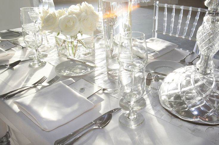 """Wedding table from """"Moon Gate"""" dinner."""