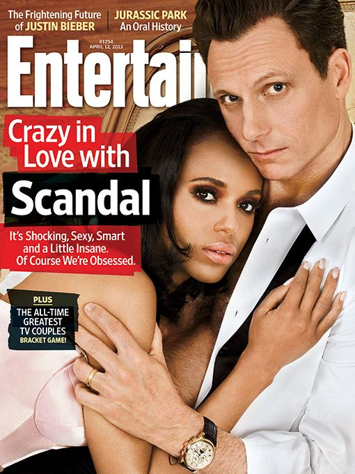 Entertainment Weekly: Crazy in love with 'Scandal' April 5, 2013