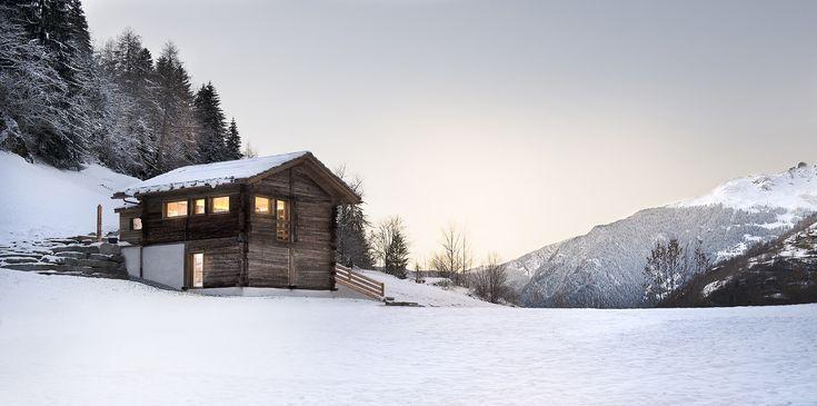 Gallery of The Larch Barn / Alp'Architecture Sàrl - 1