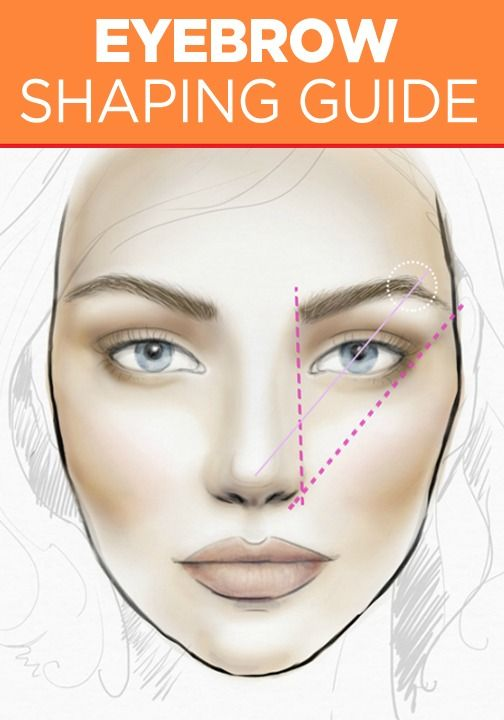 Check out this helpful eyebrow-shaping guide to get the best brow for your face shape. You're going to love this beauty tutorial and all the tricks you'll learn.