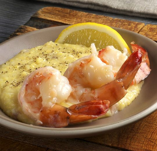 Slow-Poached Eggs With Shrimp And Grits Recipe — Dishmaps