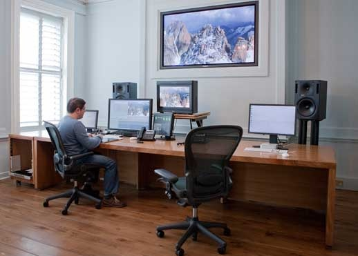 AKA Design - Custom Studio Furniture, The Farm Post Production Online Editing Suite