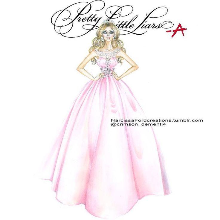 """Dollhouse Prom - Mona Vanderwaal Dress by  @sherrihill ❤️@mandiline ❤️…"