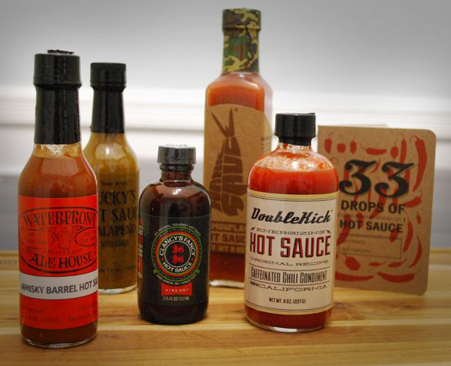 The Fire Breather - Hot Sauce Tasting Set - $49.00