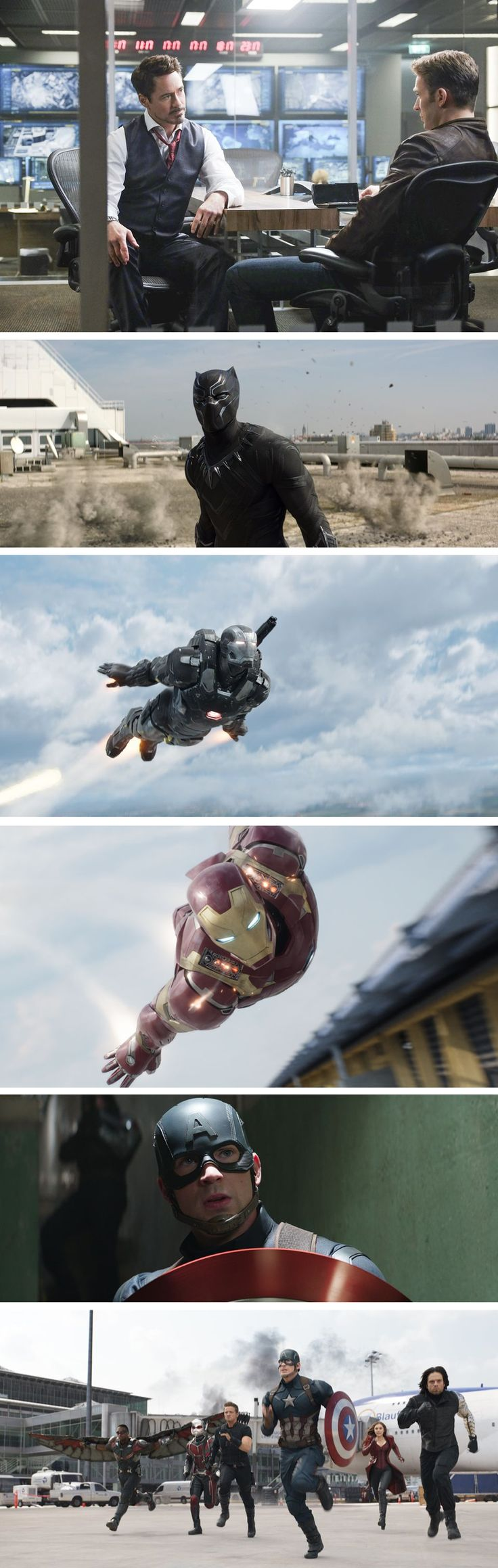 Marvel Released New Set Of High Resolution Images For 'Captain America: Civil War'