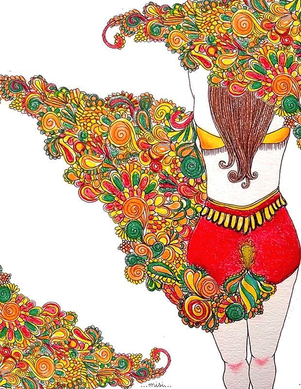 Ella no apareció. La gente la esperaba y en su lugar se presentó un conocido travesti. A la madre se le notó desencajada cuando los organizadores del carnaval le preguntaron por el paradero de su hija, pero el alcohol ... Texto de Ximena Cuenca | Ilustración de Misi Fushi