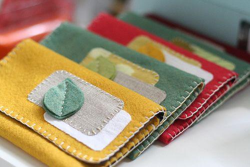 Short Clip Video Tutorial: Felt Fabric Wallet - J&O Fabrics Store Newsletter Blog