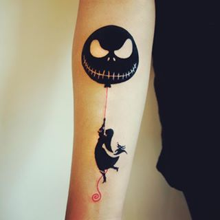 Nothing really beats a Tim Banksy tattoo. | 27 Stunning Reasons To Get A Tim Burton Tattoo
