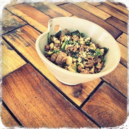 Thai Minced Beef