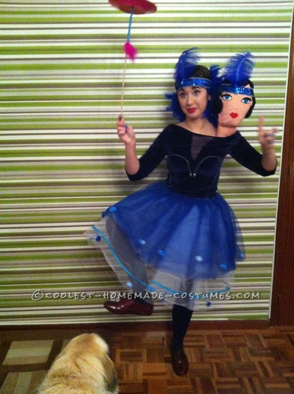 Two-Headed Circus Freak Costume... This website is the Pinterest of costumes