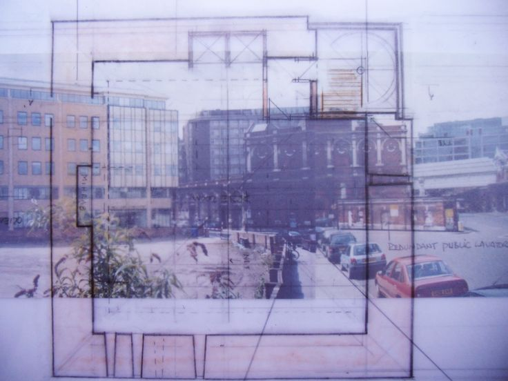 Plan drawing and quartier surroundings.
