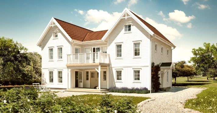 Love this house, but can't understand a word of the post! Darn it! C:023 - Trivselhus Build your own home! Beautiful houses from Sweden!