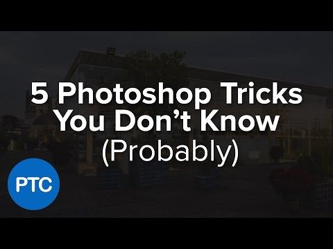 5 Photoshop Tips You Probably Didn't Know