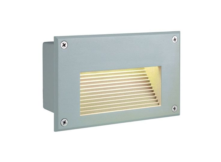 SLV Lighting 3229702U LED Outdoor Recessed Lighting Trim from the Downunder Coll Silver Grey Outdoor Lighting Landscape Lighting Hardscape Lights