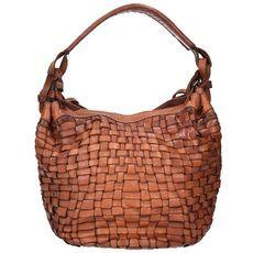 Campomaggi Edera Mini Bag Handtasche Leder 11 cm, cognac