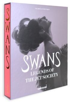 """Assouline Swans: Legends of Jet Society DETAILS Once the epitome of soigne worldly glamour, the words """"jet set"""" conjure images of exotic global destinations and golden beaches; clandestine rendez-vous on opulent yachts; star-studded parties in palatial mansions, the women in couture gowns and glittering jewels, the men in debonair tuxedos. The people of the jet set were the last vestiges of a leisured and cultivated age, a world of taste and culture, elegance and beauty. .Swans: Legends of…"""