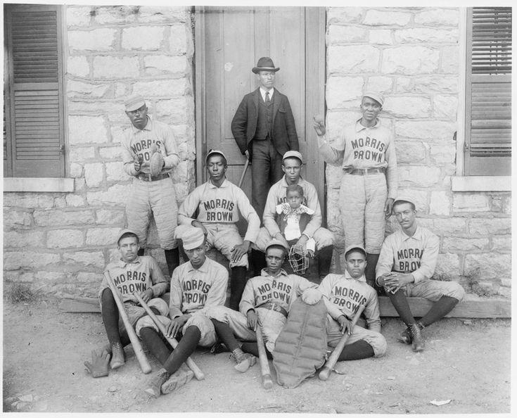 morris brown college baseball team african american 1899 or 1900 atlanta georgia historical