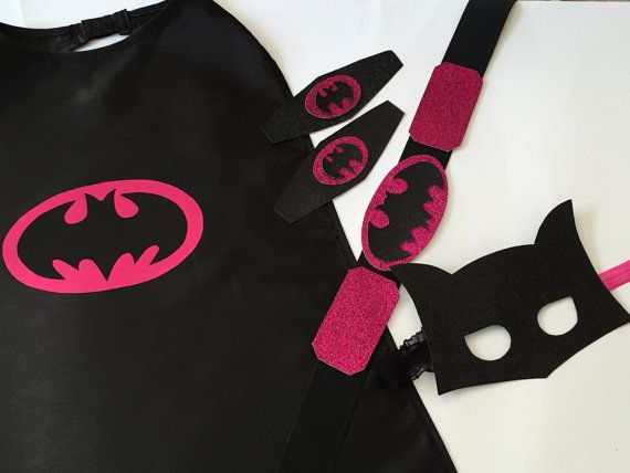 BATGIRL COSTUME Batgirl Utility Belt and Wrist by JennasGarden