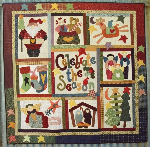 117 best Christmas Quilts images on Pinterest | Quilting ideas ... : christmas quilting projects - Adamdwight.com