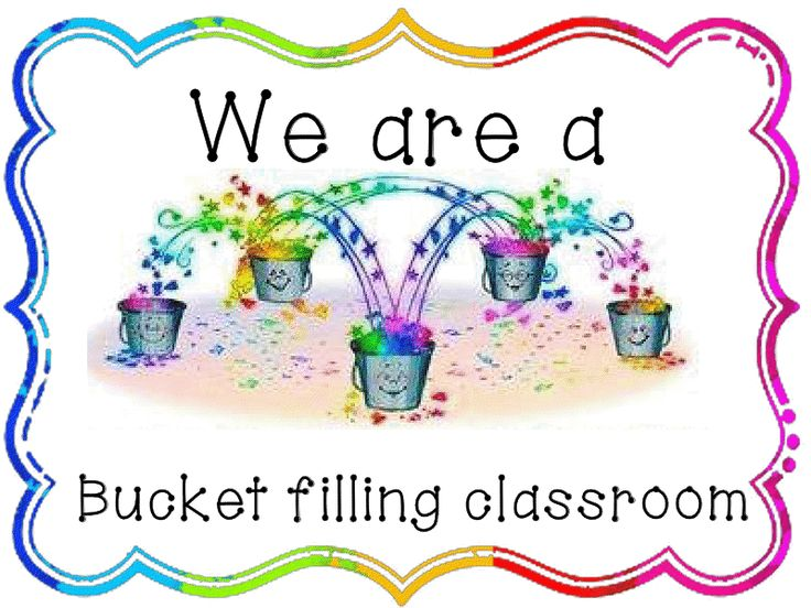bucket filler writing | Bucket Filling Classroom! | Welcome to Miss Adams' Class