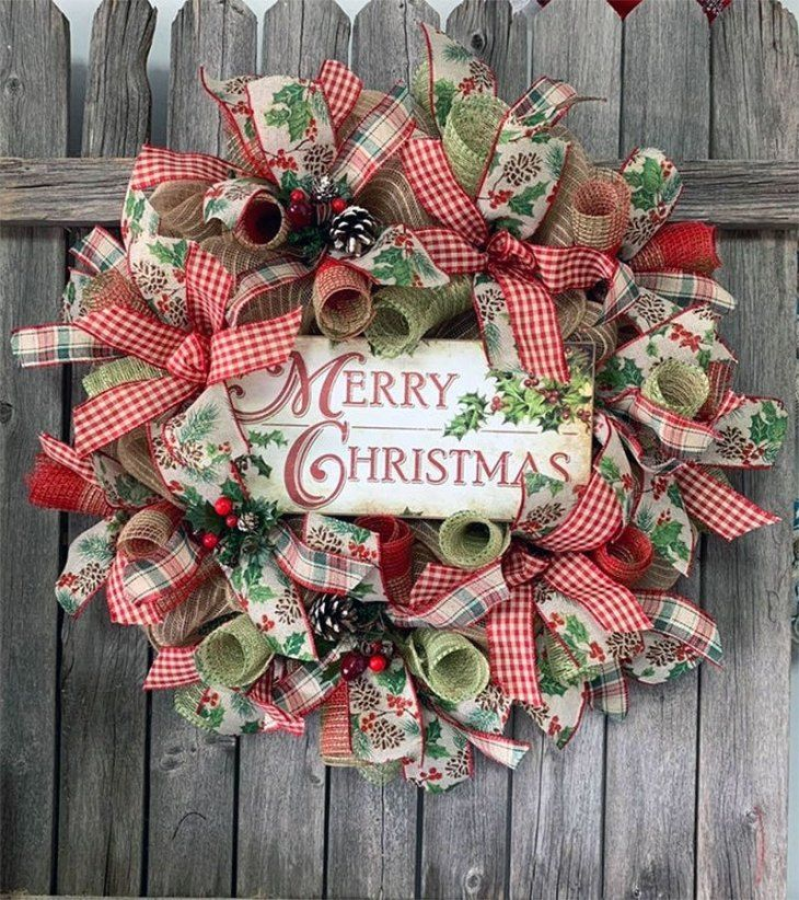 40+ Images of beautiful christmas wreaths ideas in 2021