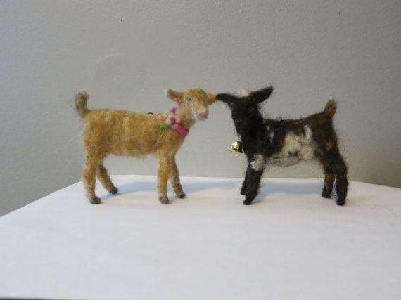 Goat Wool Needle felted
