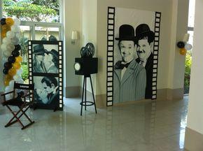 FANTASIE... FESTAS INFANTIS: Cinema - Decoração 2D