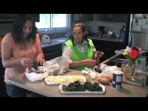 Chiles Rellenos (How to) I have fallen in love with this Grandma. I have lost mine and just love this granddaughter that is sharing hers with all of us. And great Mexican recipes.