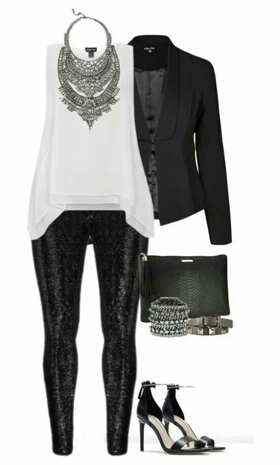 Sequined leggings!! Clothing, Shoes & Jewelry - Women - leggings outfit for women - http://amzn.to/2kxu4S1