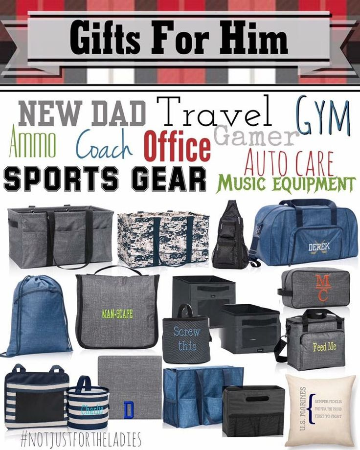 Love these items for the men in you life.  www.mythirtyone.com/mamaura