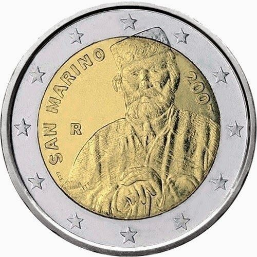 2 euro coins San Marino 2007, Bicentenary of the birth of Giuseppe Garibaldi