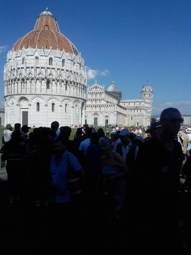Piazza dei Miracoli in May, Pisa