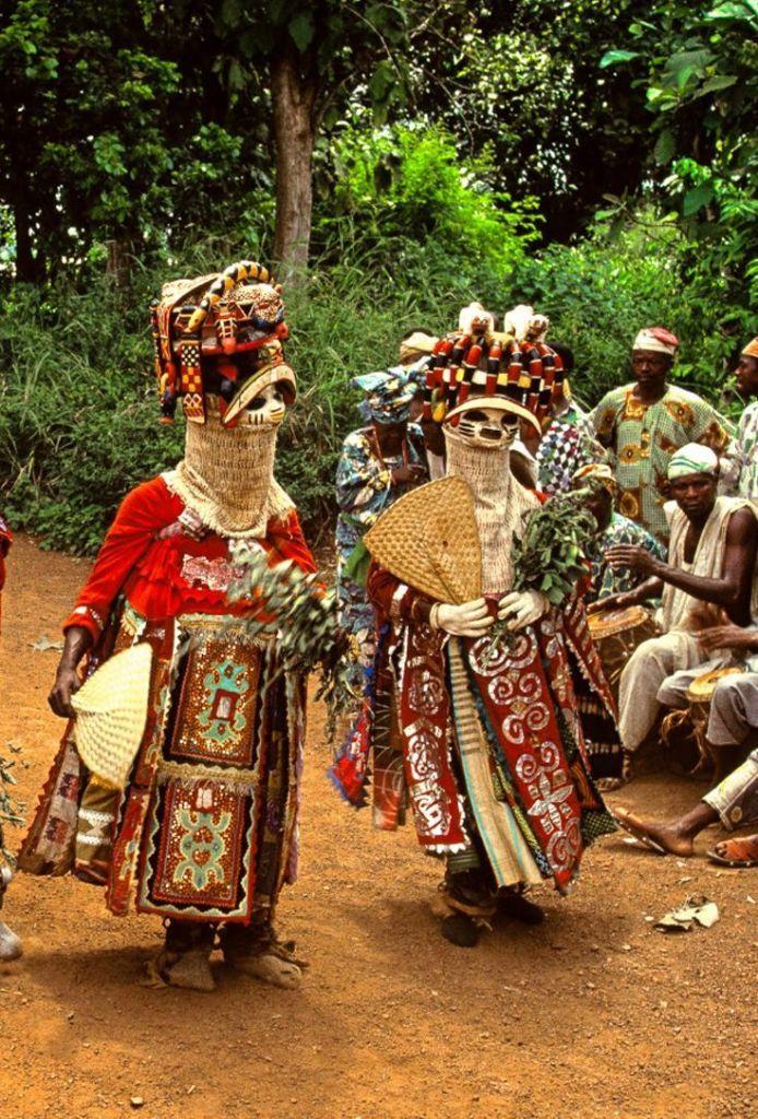 Yoruba Masquerade; Oro Efe Masks