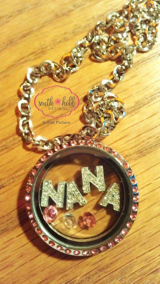 Nana! Need I say more? South Hill Designs by Locketology.com
