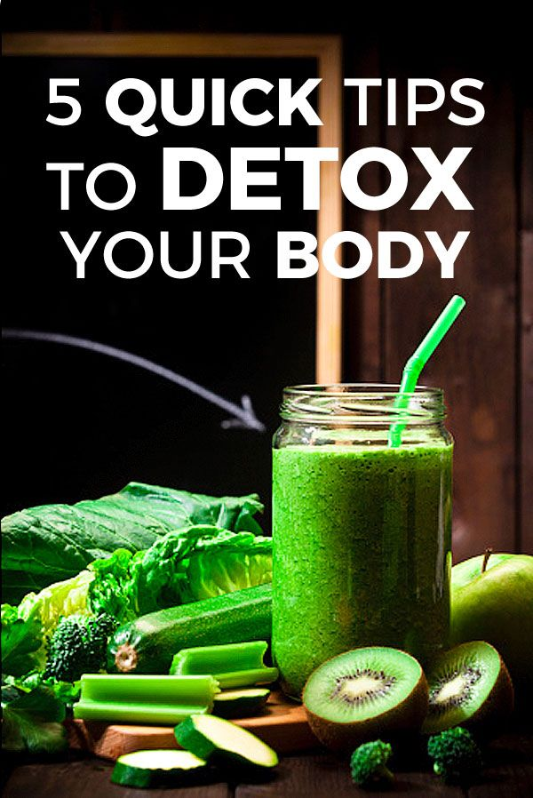 A detox or detoxification is a process where you cleanse your body of all the toxins, chemicals, and pollutants that have invaded it. Not only can a detox help you feel better, lose weight, and look younger, but it can also positively impact your health in the future. Here are 5 ways you can quickly detox your body without having to visit some professional who will charge you an arm and a leg for their cleansing services: