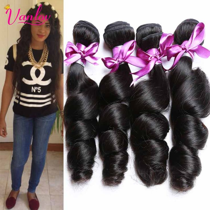 Cheap Brazlian Virgin Hair 4 Bundles Loose Wave Unprocessed Virgin Brazilian Hair bundle Deals Human Hair Brazilian Loose Wave