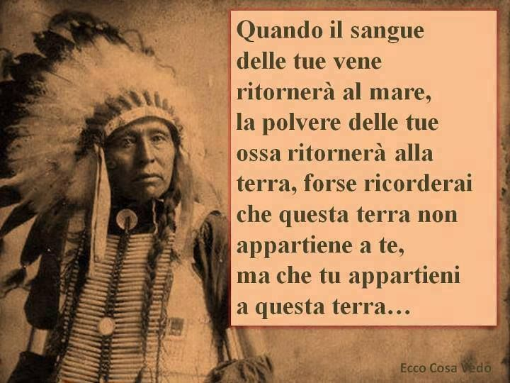 saggezza nativi americani