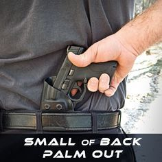 Small of Back Palm Out Holster