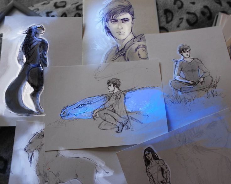 Drawings on The Inheritance Cycle - Polina Andreeva (@PolinaaLorien) | Twitter