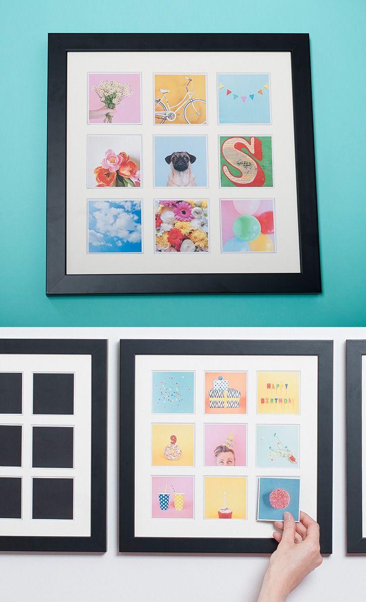 31 best custom framed wedding images on pinterest wedding ideas diy magnetic photo frame to cycle through childrens art solutioingenieria Gallery