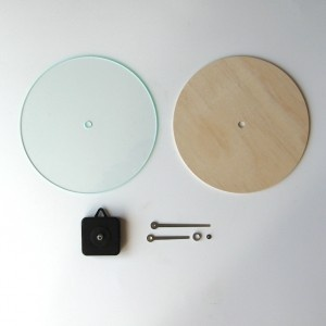 Objectify Round DIY wall clock at qwerkyhome.co.nz
