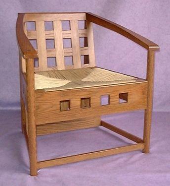 Charles Rennie Mackintosh Chairs by Bruce Hamilton Furniture Makers, Glasgow
