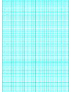 This semi-logarithmic, or semi-log, graph paper with 180 divisions (one millimeter; fifth, tenth accent) by 3 cycle segments helps when performing a semi-log plot to visualize data that has an exponential relationship. Ideal when graphing variables when there is a large range of values on one axis. Free to download and print