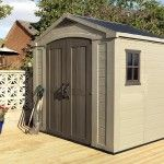 Keter Plastic Shed 8×6 Review and Information